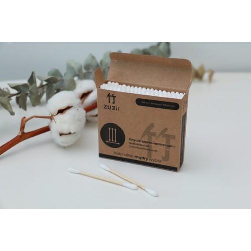 Zuzii - Bambusowe patyczki kosmetyczne 100szt