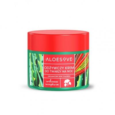Aloesove - Nawilżający krem na noc Unisex 50ml