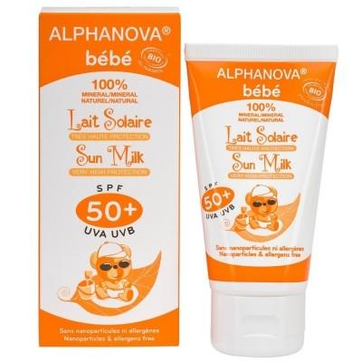 Alphanova Bebe - Naturalny krem przeciwsłoneczny wysoka ochrona SPF50 50ml