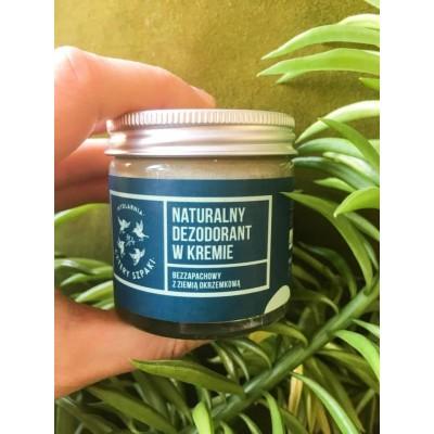 Cztery Szpaki - Naturalny, bezzapachowy dezodorant w kremie 60g