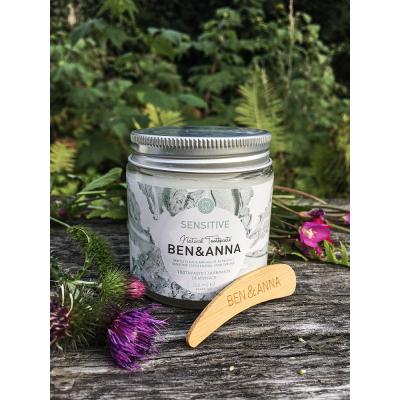 Ben&Anna - Naturalna pasta do zębów WRAŻLIWYCH bez flouru 100ml