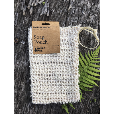 Hydrophil - Myjka sizalowa, woreczek na mydło, myjka peelingująca