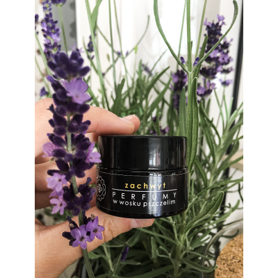 Miodowa Mydlarnia - Perfumy w wosku pszczelim Zachwyt 15g