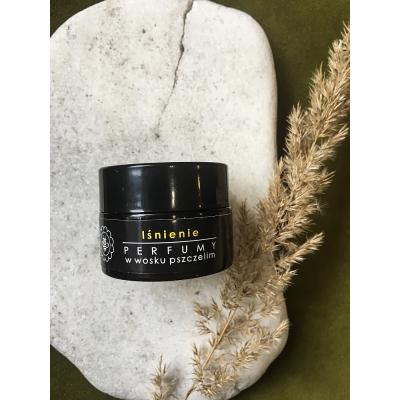 Miodowa Mydlarnia - Perfumy w wosku pszczelim Lśnienie 15g