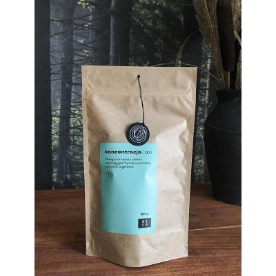 Sela - KONCENTRACJA Ziołowa herbata podnosząca wydolność psychiczną i fizyczną 70g