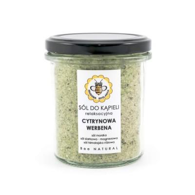 Miodowa Mydlarnia - Sól do kąpieli Cytrynowa Werbena 350ml