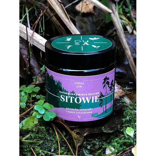 Dusza - SITOWIE - świeca sojowa na olejkach eterycznych