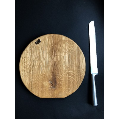 Mood Wood - deska okrągła jasna 7
