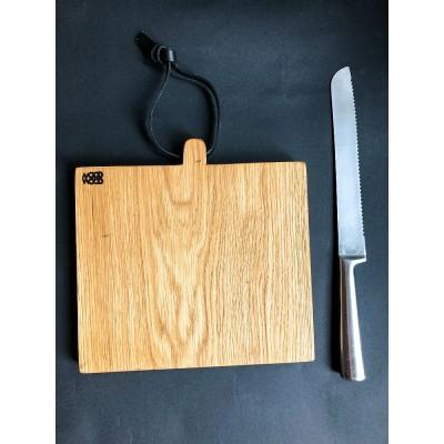 Mood Wood - deska mała kwadratowa mała z trzonkiem 18