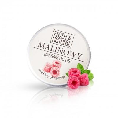 Fresh And Natural - Malinowy balsam do ust 15ml
