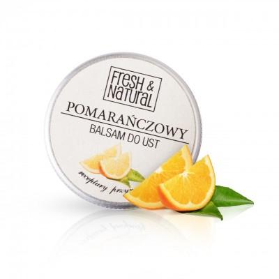 Fresh And Natural - Pomarańczowy balsam do ust 15ml