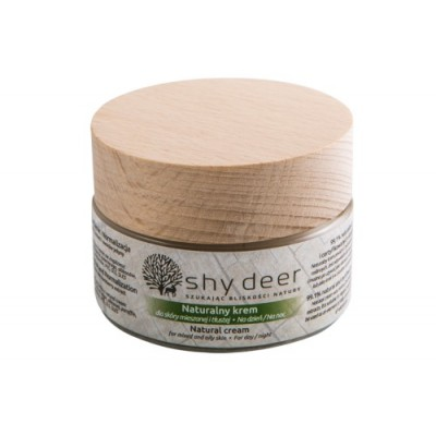 Shy Deer - Naturalny krem dla skóry mieszanej i tłustej 50ml