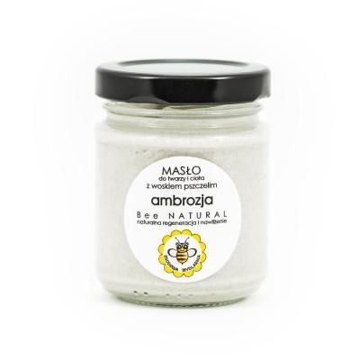 Miodowa Mydlarnia - Masło do ciała i twarzy Ambrozja 135 ml